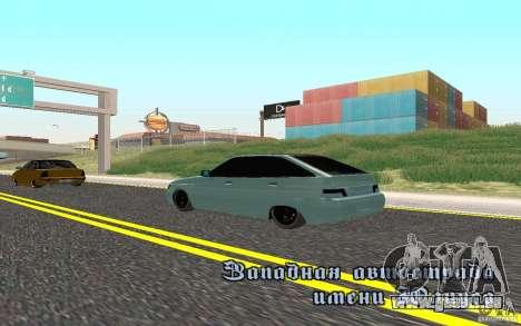 VAZ-2112 léger Tuning pour GTA San Andreas laissé vue