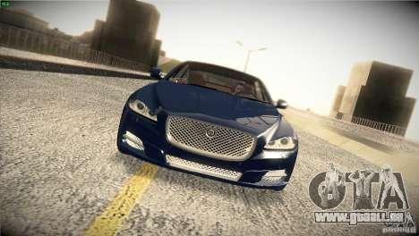 Jaguar XJ 2010 V1.0 für GTA San Andreas Innen