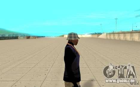 Bronik peau 3 pour GTA San Andreas deuxième écran