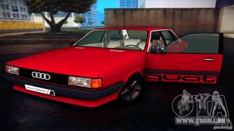 Audi 80 B2 pour GTA San Andreas vue de droite
