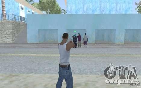 Blaue Augen für GTA San Andreas zweiten Screenshot