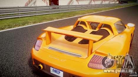 Porsche Carrera GT [EPM] für GTA 4 obere Ansicht