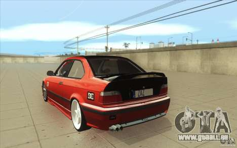 BMW Fan Drift Bolidas pour GTA San Andreas sur la vue arrière gauche