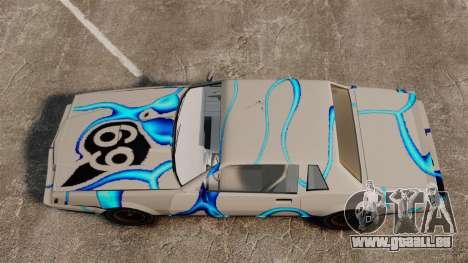 Rusty Sabre in der Lackierung, 69 für GTA 4 Rückansicht