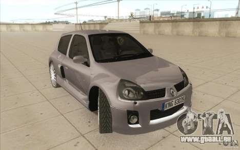 Renault Clio V6 pour GTA San Andreas vue de côté