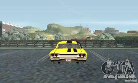 Vinyle pour savane pour GTA San Andreas vue de droite