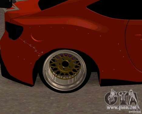 Scion FR13 pour GTA San Andreas vue de droite