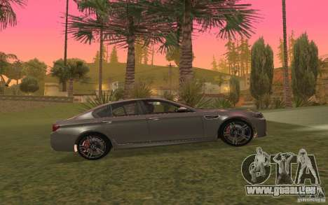 BMW M5 für GTA San Andreas Seitenansicht