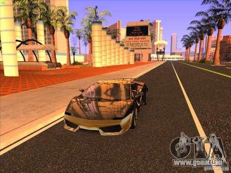 Lamborghini Gallardo Underground Racing für GTA San Andreas