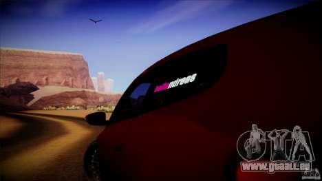 Volkswagen Sirocco pour GTA San Andreas vue arrière