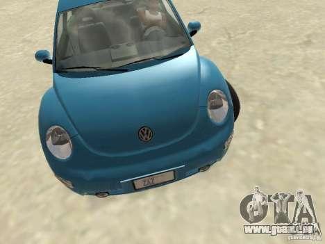 VW Beetle 2004 pour GTA San Andreas laissé vue