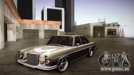 Mercedes Benz 300 SEL - Custom RC3D Edit pour GTA San Andreas