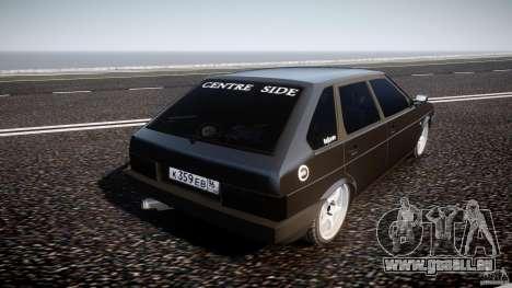Lada VAZ 2109 pour GTA 4 Vue arrière de la gauche