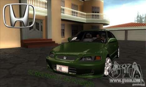 Honda Civic 1995 für GTA San Andreas