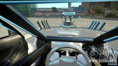 Mazda rx7 Dragster für GTA 4 Seitenansicht