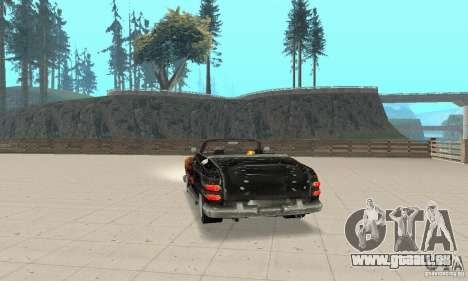 Flat Out Style für GTA San Andreas linke Ansicht