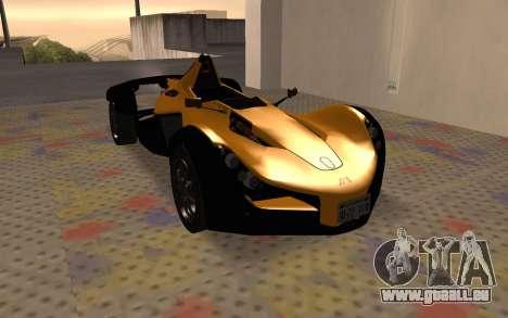 BAC Mono pour GTA San Andreas laissé vue