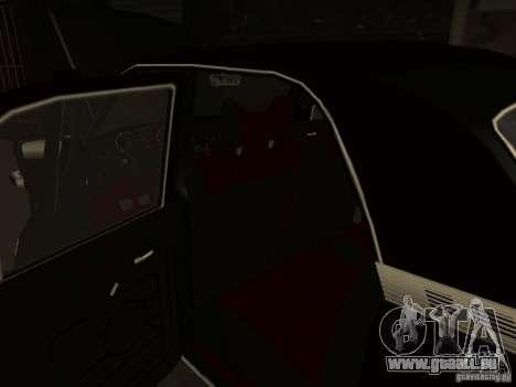 GAZ 3102 für GTA San Andreas obere Ansicht