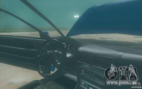 Suzuki Swift GLX 1.3 pour GTA San Andreas vue arrière