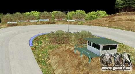 Ebisu West pour GTA San Andreas troisième écran