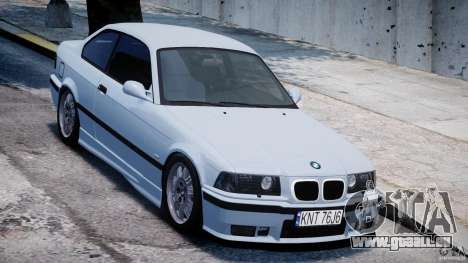 BMW M3 e36 für GTA 4 Innenansicht