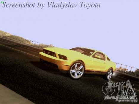 Ford Mustang GT 2011 für GTA San Andreas