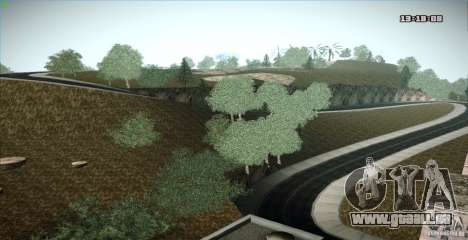 ENB Graphics Mod Samp Edition pour GTA San Andreas cinquième écran
