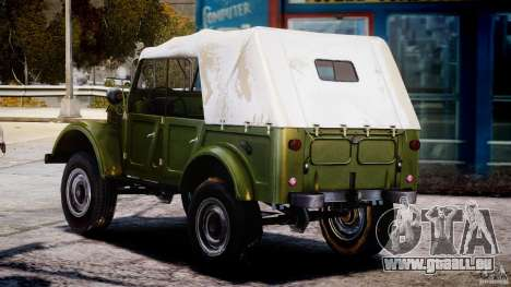 GAZ-69A, 1965 für GTA 4 hinten links Ansicht