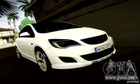 Opel Astra Senner pour GTA San Andreas