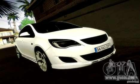 Opel Astra Senner pour GTA San Andreas