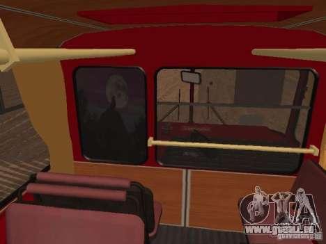 LIAZ 677 für GTA San Andreas Innen