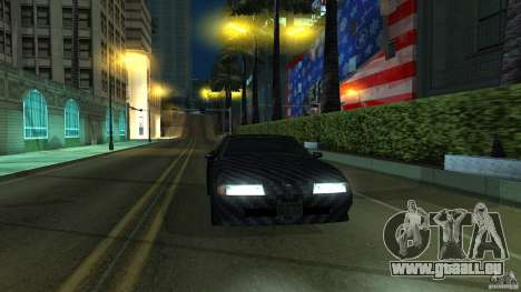 Elegy Carbon Style V 1.00 pour GTA San Andreas laissé vue