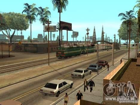 Vl80s-2532 für GTA San Andreas Rückansicht