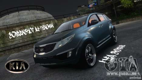 Kia Sportage 2010 v1.0 pour GTA 4