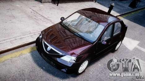 Dacia Logan 2007 Prestige 1.6 pour GTA 4