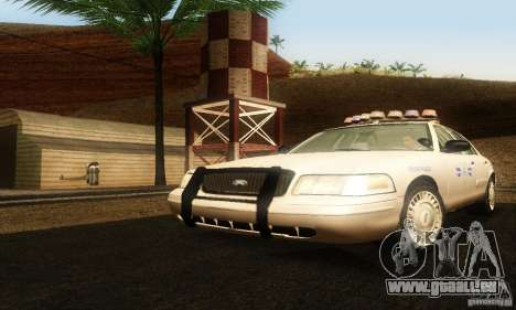 Ford Crown Victoria Rhode Island Police pour GTA San Andreas