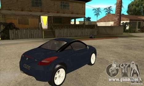Peugeot RCZ 2011 pour GTA San Andreas vue de droite