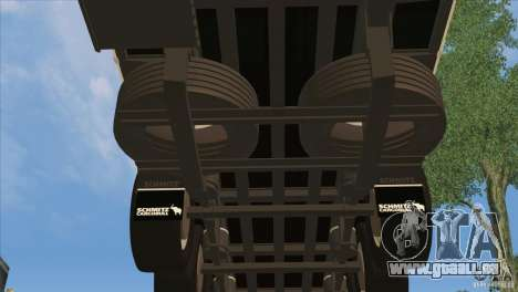 SchmitZ Cargobull für GTA San Andreas Unteransicht