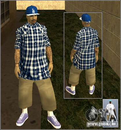 Skin Pack Getto für GTA San Andreas zwölften Screenshot
