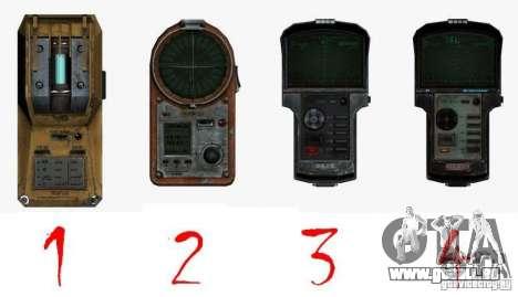 Detektor des S. t. A. l. k. e. R # 2 für GTA San Andreas