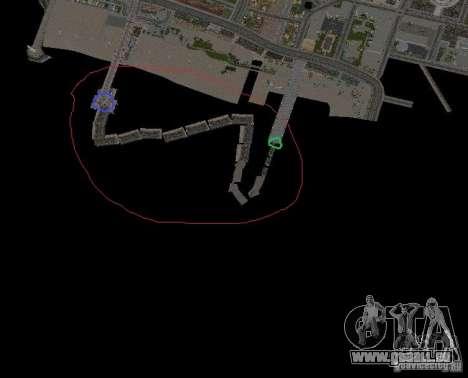 Night moto track pour GTA San Andreas huitième écran