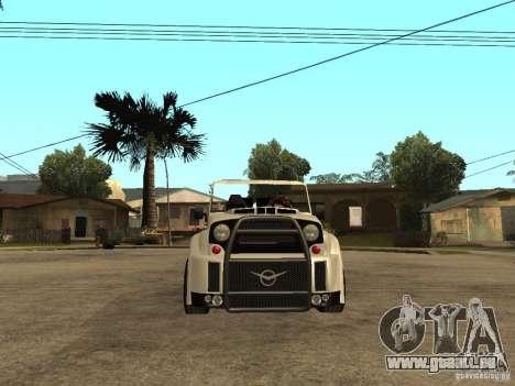 Uaz Cabriolet pour GTA San Andreas vue de droite