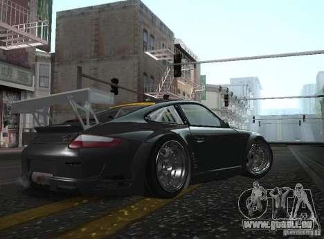 Porsche 911 GT3 RSR RWB pour GTA San Andreas laissé vue