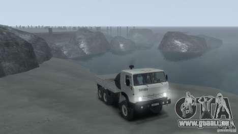 KAMAZ 4310 pour GTA 4