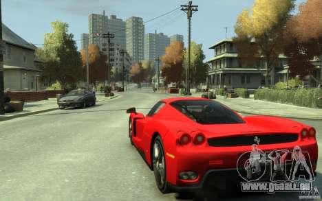 Ferrari Enzo [EPM] v1 pour GTA 4 Vue arrière de la gauche