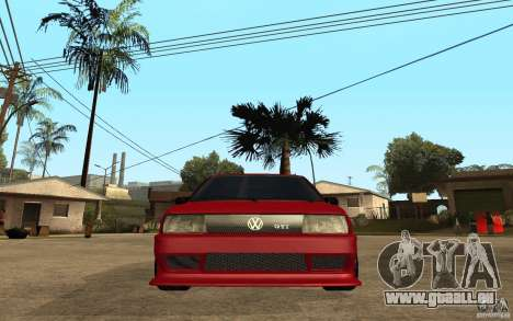 Volkswagen Golf 2 GTI Tuned für GTA San Andreas rechten Ansicht
