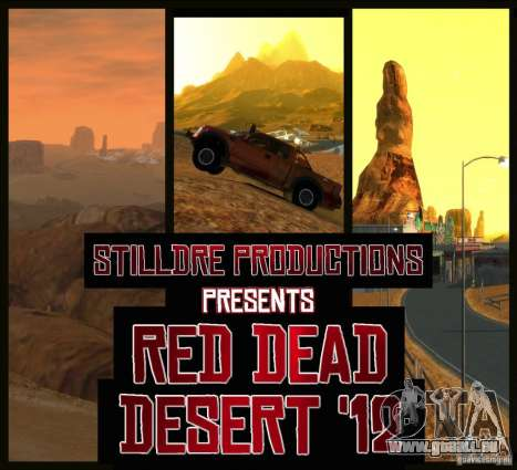 Red Dead Desert 2012 für GTA 4