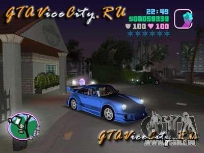 Porsche 911 VEILSIDE für GTA Vice City