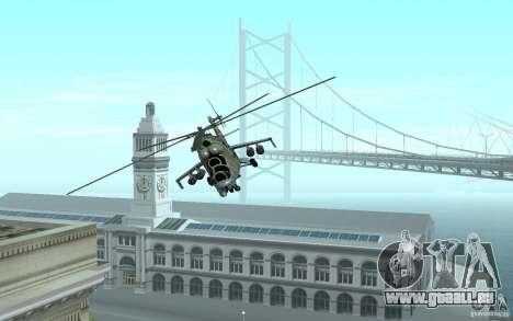 MI 24 für GTA San Andreas