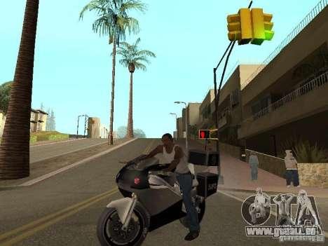 NRG-500 Police pour GTA San Andreas vue de droite